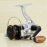 Metal  Fishing Spinning Reel 1 Ball Bearings  Exchangable Handle-2000A