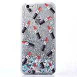 le nuove stelle pc rossetto sabbie mobili di caso per iPhone6 / 6s / 6 più / 6s più (colori assortiti)