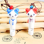 Handmade Ceramic Dog Whistle small pet dog whistle whistle keychain new style Dog training products