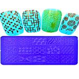 1pcs  Stamping Plates Nail Art Templates DIY Image Nail Art Tools XY-L01-05