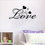 Words & Quotes Wall Stickers Romance Wall Stickers Shapes Wall Stickers Plane Wall Stickers,vinyl 57*27cm