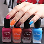 4 PCS-Bgirl Nail Art  Matte Nail Polish -16ml/Bottle 21-24 (4 COLORS)