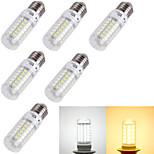Bombillas LED de Mazorca Decorativa YouOKLight® T E14 / E26/E27 4W 69 SMD 5730 240 lm Blanco Cálido / Blanco FrescoAC 100-240 / AC