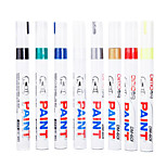 Plastic Business Permanent Markers(Random Colors)