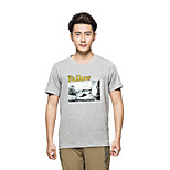 KORAMAN Men's Summer Short Sleeve T-shirt Printing Breathable Quick-dry
