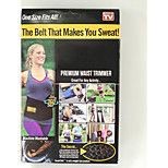 Waist Trimmer Belt Fat Burner Belly Sauna Sweat Tummy Yoga Body Wrap Exercise Go