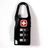 Luggage LockForLuggage Accessory Alloy Black 5.5*2.0*0.8