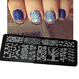 1pcs  New Nail Art Stamping Plates  DIY  Image Templates Tools Nail Beauty XY-J01-05