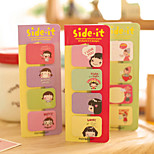 Candy Girl Self-Stick Notes(1 Set)
