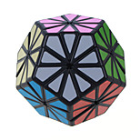 IQ Cube Magic Cube / Puzzle Toy Qiji Alien Speed Smooth Speed Cube Magic Cube puzzle Black ABS