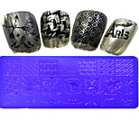 1pcs  Stamping Plates Nail Art Templates DIY Image Nail Art Tools XY-L26-32