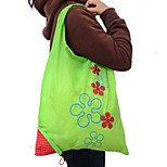 Strawberry Folding Portable Receive Fashion Handbags Shopping Bags Of Environmental Protection Bags Random Color