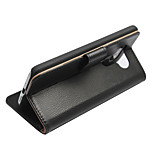 Luxury Genuine Leather Flip Wallet Card Slots Stand Leather Case Cover For LG G5