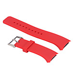 Rubber Silicon Wrist Strap Replacement Watch Band for Samsung Gear S2 Watch R720 (Small10.5cm+6.5cm)
