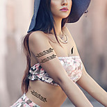 Fashion Temporary Tattoos Sexy Body Art Waterproof Tattoo Stickers Love 5PCS
