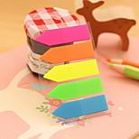 Solid Color Arrow Design Self-Stick Notes(1 PCS)