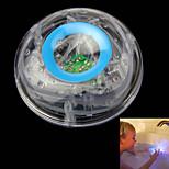 Children Bathe Underwater Flash LED Colorful Float Bathtub Lamp Toy Transparent Sky Blue