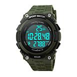 Montre de sport Hommes / Unisexe Compteur de vitesse / Podomètre / Chronomètre / Noctilumineux Quartz Japonais Numérique bracelet