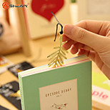 1PC Vintage Key Feather Angel Gold Metal Bookmark Learning Office Supplies(Style random)