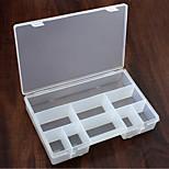 9 Cases Plastic Travel Storage Box