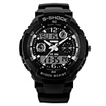Men's  Sports Watch  Calendar / Chronograh / Water Resistant  / Noctilucent Wrist Watch