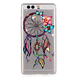 Flowers Dreamcatcher Pattern Embossed TPU Case for P9/ P9 Lite