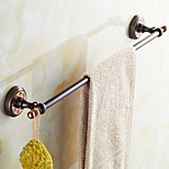 ORB and Rose Gold-plated finishing Brass Material Bathroom Towel Rack