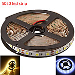 5M HRY® SMD5050 300LED Warm/Cool White Color LED Strip Light(DC12V)