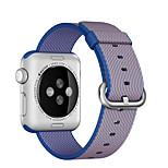 nylon de alta calidad reloj manzana de la manera correa de reloj de 38 mm y 42 mm (colores surtidos)
