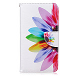 Sunflower Pattern Card Phone Holster For Huawei Honor 5X/Ascend P9/Ascend P9 Lite
