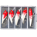 5 pcs Hard Bait / Minnow / Crank / Pencil / Popper / Lure kits / Fishing LuresLure Packs / Crank / Popper / Vibration/VIB / Pencil /