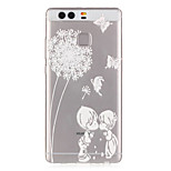 Dandelion Love Child Pattern Embossed TPU Case for P9/ P9 Lite