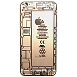 Transparent Acrylic Physics Circuit Principle Diagram Cases for iPhone 5/5S(Assorted Colors)