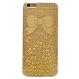 luxo de glitter flores nunca desaparecer caso padrão de telefone para o iPhone 6 / 6s / 6 plus / 6s mais
