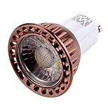 1 pcs YWXLIGHT GU10 7W 1 COB 600 lm Warm White / Cool White MR16 Dimmable / Decorative LED Spotlight AC 220-240 / AC 110-130 V
