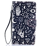 Confusion Pattern PU Leather Full Body Case with Stand for Huawei Ascend P9 Lite
