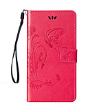 Butterflies Around Open Wallet Holster for Huawei G8 Mini (Assorted Colors)