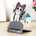 graue Katze Muster Halter Halterung für iPhone / Samsung und andere Handy
