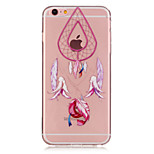 Dreamcatcher Relief TPU Transparent Soft Phone Case foe iPhone 6/6S/6 Plus/6S Plus