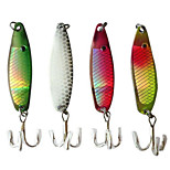 5cm 6.5g/Pcs Metal Fishing Lures Bait Paillette Crankbaits Hooks 4 Colors 1 PC