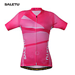 SALETU Women QuickDry Cycling Jersey Outdoor Sports  Jacket Bicycle Bike Short Sleeve Shirt  Clothing