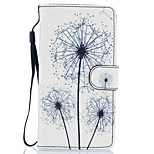 Dandelion Pattern PU Leather Full Body Case with Stand for Huawei Ascend P9 Lite