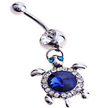 Fine jewelry Sterling Silver / Zircon Navel & Bell Button Rings Party / Daily / Casual 1pc