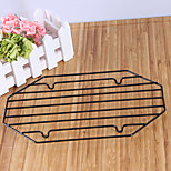 Octagon Cake Cooling Rack for Cake Bread Cupcake Baking Tool Nonstick Coated Iron Black Color