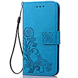 Luxury Lucky Clover Wallet Leather Flip Case For Sony Xperia Z2/Z3/Z3 Mini/Z4/Z5/Z5 Mini  (Assorted Colors)