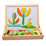 Wooden Balls Magnetic Puzzle Toys, Nature Spell Spell Joy, Baby's Imagination Double Panel