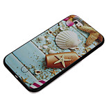 Shell Pattern Take Pictures Fill Light PC Back Case for iPhone 6/6s/6 Plus/6s Plus