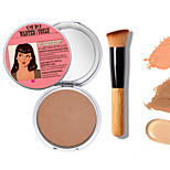 1PCS New Makeup TB Mary-Lou Manizer Bronzer & Highlighter Cosmetics+1 PCS High Quality Powder Brush