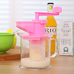 Environmental Creative Green Handmade Kitchen Juicer Soymilk Random Color