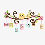 Animais / Botânico / Desenho Animado / Vida Imóvel / Moda / Lazer Wall Stickers Autocolantes de Aviões para Parede,PVC 90*60*0.1